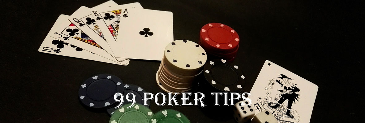 99 Poker Tips header image